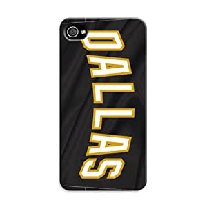 DIY Attractive NHL Dallas Stars Hard Case Cover Fit For iPhone 4/4S