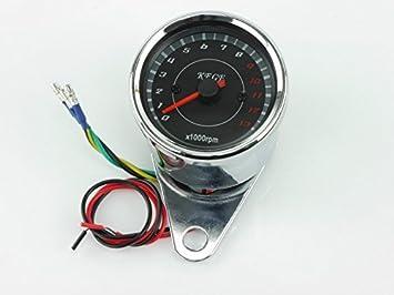 Universal Drehzahlmesser z.B Honda VT500C VT600C VT750 Shadow