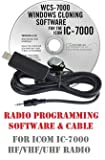 Icom IC-7000 Two-Way Radio Programming Software & Cable Kit