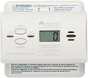 Atwood 32703 RV Carbon Monoxide Detector – LCD Digital, White
