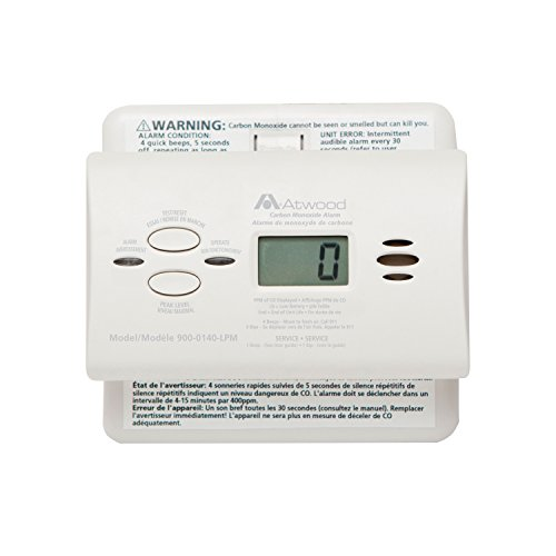 Price comparison product image Atwood 32703 RV Carbon Monoxide Detector - LCD Digital, White