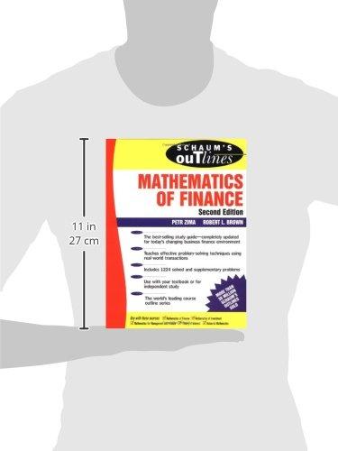 Schaum's Outline of  Mathematics of Finance