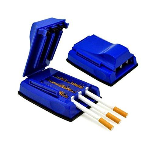 LtrottedJ Manual Tobacco Maker Triple Cigarette Rolling Machine Tube Roller