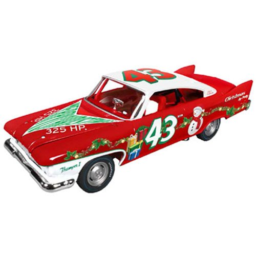 Richard Petty 1960 Plymouth Fury  43 2015 Christmas Edition Limited to 1250pc 1/24 by Autoworld 24003 by Autoworld