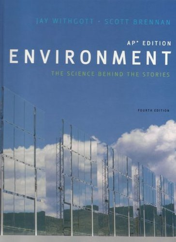 Environment the Science Behind the Story Ap Edition pdf epub