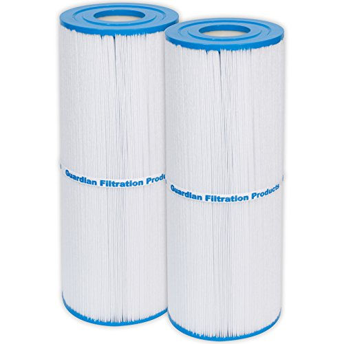 2 Pack Guardian Pool Spa Filter Replaces Unicel C-4950 Pleatco PRB50-IN Filbur FC-2390 ()