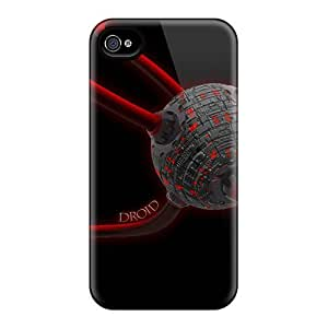 Abrahamcc Ahe1472cmTD Case For Iphone 4/4s With Nice Droid Space Appearance