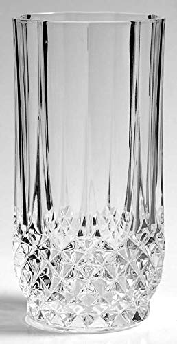 Highball Glass Longchamp by Cristal D'Arques-Durand