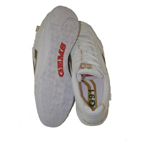 scarpe da calcetto GEMS G91 ELITE BIANCO INDOOR