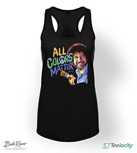 teelocity-bob-ross-racerback-t-shirt-all-colors-matter-medium-black