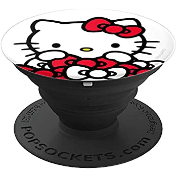 2b9fcfc86 Hello Kitty Bow Pile PopSockets Stand for Smartphones and Tablets -  PopSockets Grip and Stand for Phones and Tablets