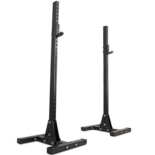 Titan Fitness Squat Stand HD Deadlift Lift Weight Rack 2''x3'' 1,000 lb Capacity by Titan Fitness