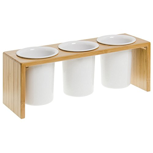 Cal-Mil 1425-3-60 Bamboo 3 Cylinder Display - Just The Display, Cylinders Does Not Included