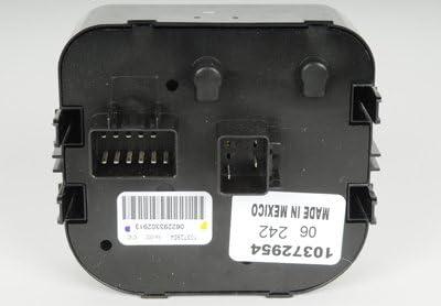 ACDelco D1540H GM Original Equipment Headlamp Switch