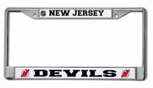 NHL New Jersey Devils Chrome Plate Frame (Nj Devils compare prices)
