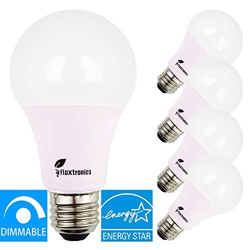 Energy Star Listed A19 ~ A21 LED Light Bulb, Dimmable, 1600 Lumens, 100 Watt Equivalent, 3000K Warm White, 15W = 100W Light Bulb, E26 Base LED Bulb, UL Listed, 5 Years Warranty, 4-Pack