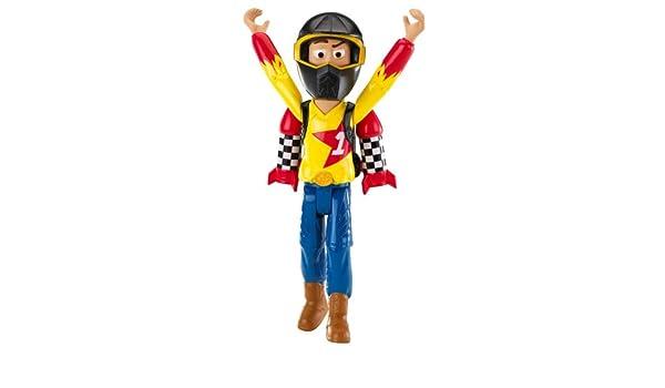 Toy Story - la raza RC figura de acción - Woody con cohetes turbo: Amazon.es: Juguetes y juegos