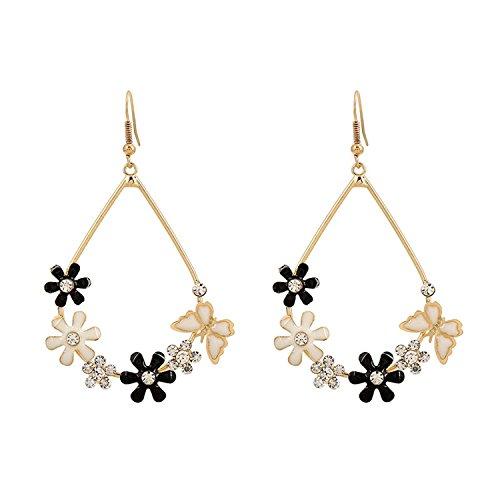 Enamel Butterfly Earrings - 5
