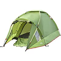 MoKo Waterproof Family Camping Tent, Portable 3 Person...