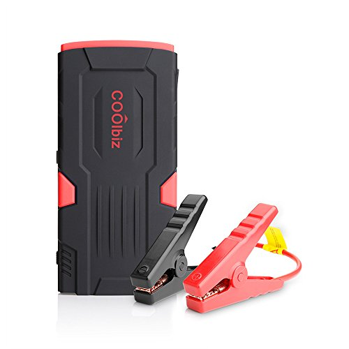SOUFUN Pomobie Bolt Power D11 600 Amp Peak With 16500mAh Portable Car Battery Jump Starter with double USB ports 1000 times cycle life