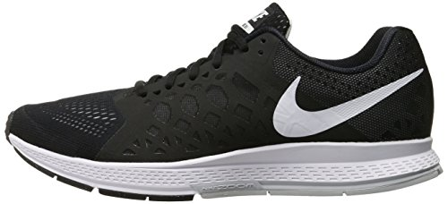 354a330884b3 Nike Mens Air Zoom Pegasus 31 Running Shoes Black White 652925-010 Size 11.5