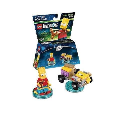 Amazon.com: LEGO Dimensions - Bart Simpson Fun Pack For 6 ...
