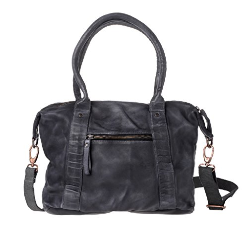 Leather For Black Compact Dudu Black Woman Bag Shoulder PfqAxwS8