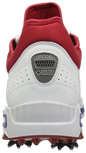 ECCO Cool, Scarpe Sportive Uomo Bianco (White/tomato)