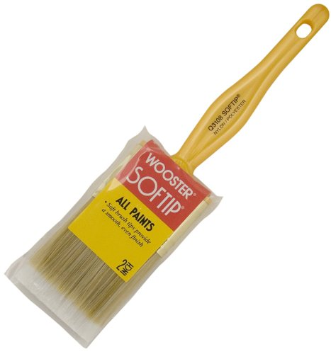 Wooster Brush Paint Brush Q3108-2 Softip Paintbrush, 2-Inch, White