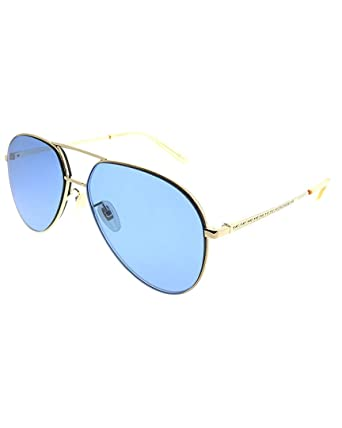 106d4ed9bc Image Unavailable. Image not available for. Color  Gucci Womens Unisex  Aviator 59Mm Sunglasses