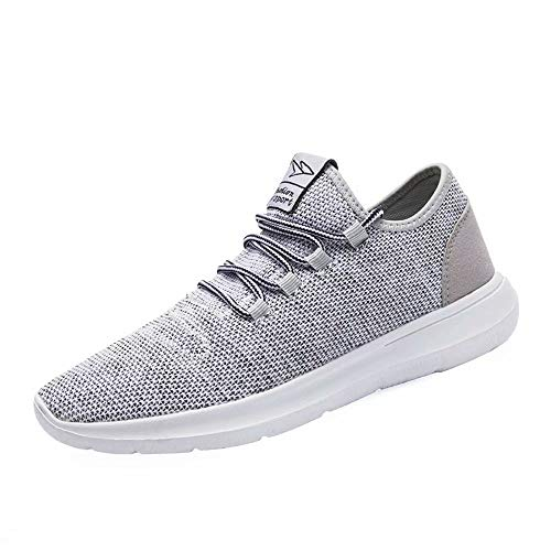 Srenket Mens Casual Athletic Sneakers Comfortable Running Shoes Light Tennis Zapatos Footwear for Men Walking Workout Gray46