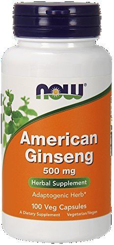 Now American Ginseng, 100 Capsules (Pack of 2)