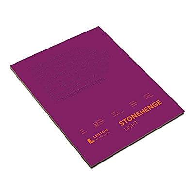 Stonehenge Lghtwght Paper 11X14 Pad Wht 30Sht