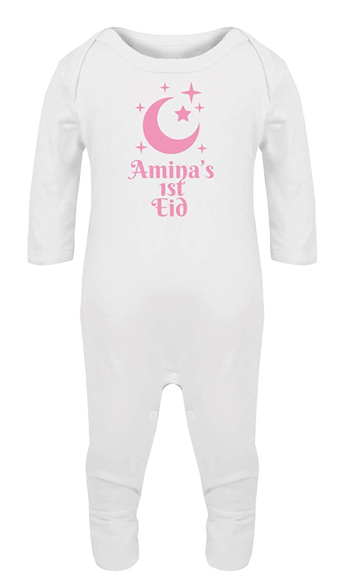 Personalised First Eid Baby Romper Suit Gift or Present