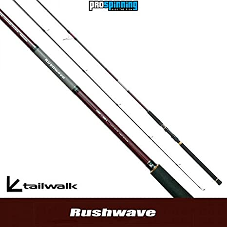 Tailwalk- RUSHWAVE- Caña de pescar - Spinning - Modelo 130H-ti ...