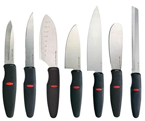 OXO 7 Piece Knife Black Silver
