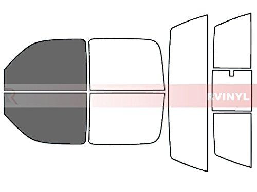 Rtint Window Tint Kit for Chevrolet Silverado 2001-2006 (4 Door) - Front Kit - 35% ()