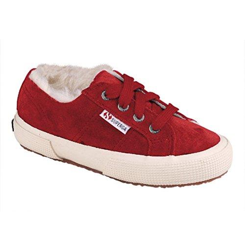 Superga S002880 - Zapatillas de deporte para niños Beet