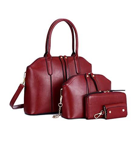 Pour à Bandoulière Sac Dames Sac Nail Bagage Sac Liu à Bandoulière Main BAILIANG Simple Sac à Red Fashion à Wild t80wdYIq