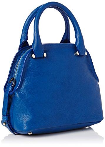 Trussardi Jeans 76B20551, Borsa a mano Donna, Blu, 22 cm