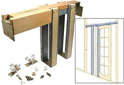 Johnson Hardware 1500 Commercial Grade Pocket Door Frame 28 INCH X 80 INCH