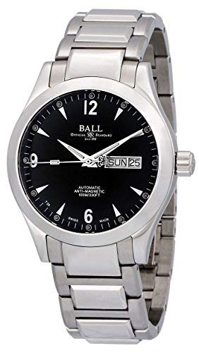 Ball Engineer II Ohio Automatic Steel Mens Watch Black Dial Day Date NM2026C-S5J-BK