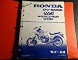 1983-1984 HONDA V45 INTERCEPTOR VF750F SERVICE MANUAL IN BINDER 250 PG (720)