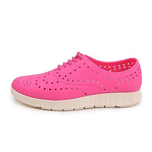 da scarpe donna Pink Color Jiuyue shoes 40 spiaggia su con Blue da Piccolo slip Blue e Sandali da EU da uomo uomo cava Pink Dimensione Scarpe zoccoli da p6X6Zxrqw