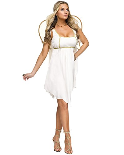 Fun World Women's Golden Angel Adult Costume, Multi, Medium/Large
