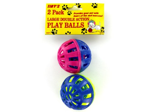 2 Pack Cat Play Balls-Package Quantity,72