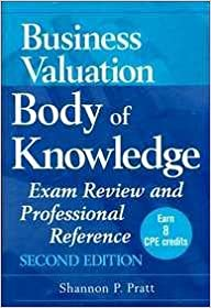 Business Valuation Body of Knowledge