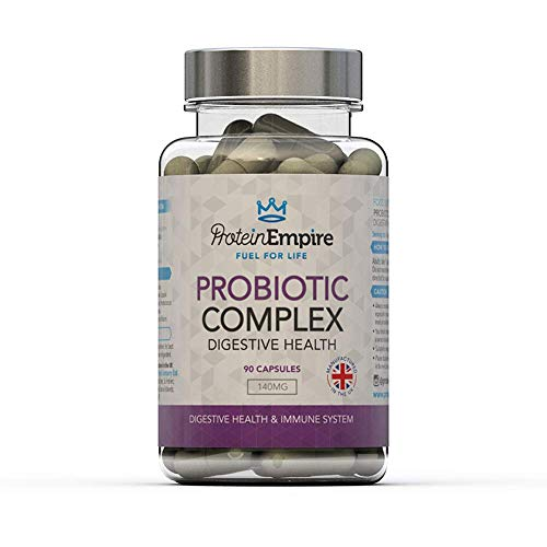 Probiotic Complex Capsules 3 Month Supply - Digestive Enzymes For Digestive...