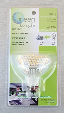 Amazon.com: Green LongLife RV LED Light Bulbs (Warm White, 1156/20-99 Base): Automotive