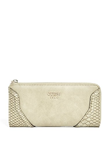 GUESS Georgie Python-Embossed Zip-Around